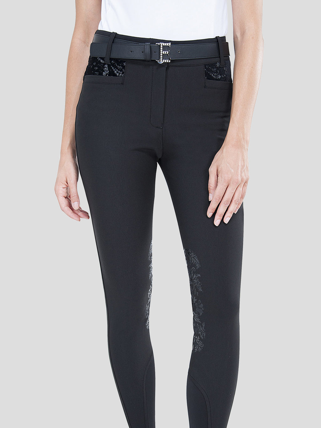 "HERON - WOMEN'S BREECHES WITH ""BAROQUE"" KNEE GRIP"