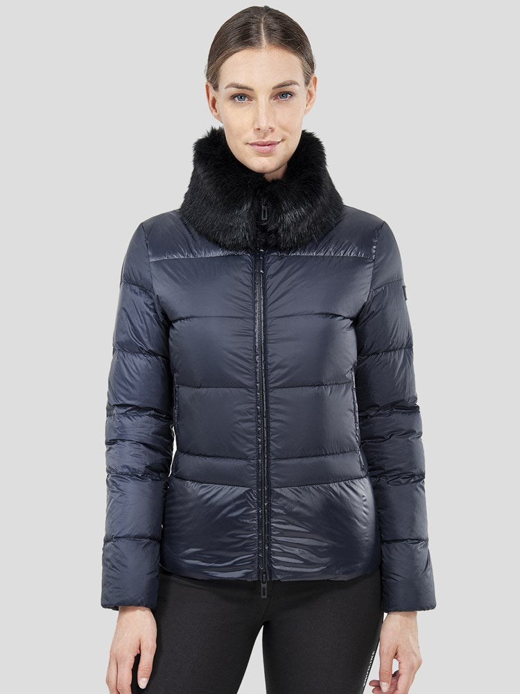 OWL - WOMEN'S BLACK DOWN JACKET