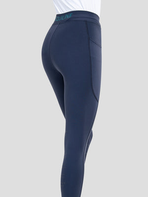 CAILIN WOMEN'S LEGGINGS WITH KNEE GRIP IN BLUE