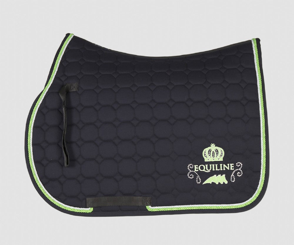 Violet Saddle pad Blue