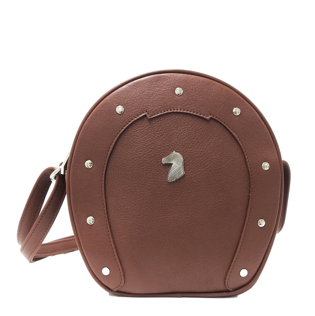 DESORI FERRO LEATHER CROSSBODY BAG