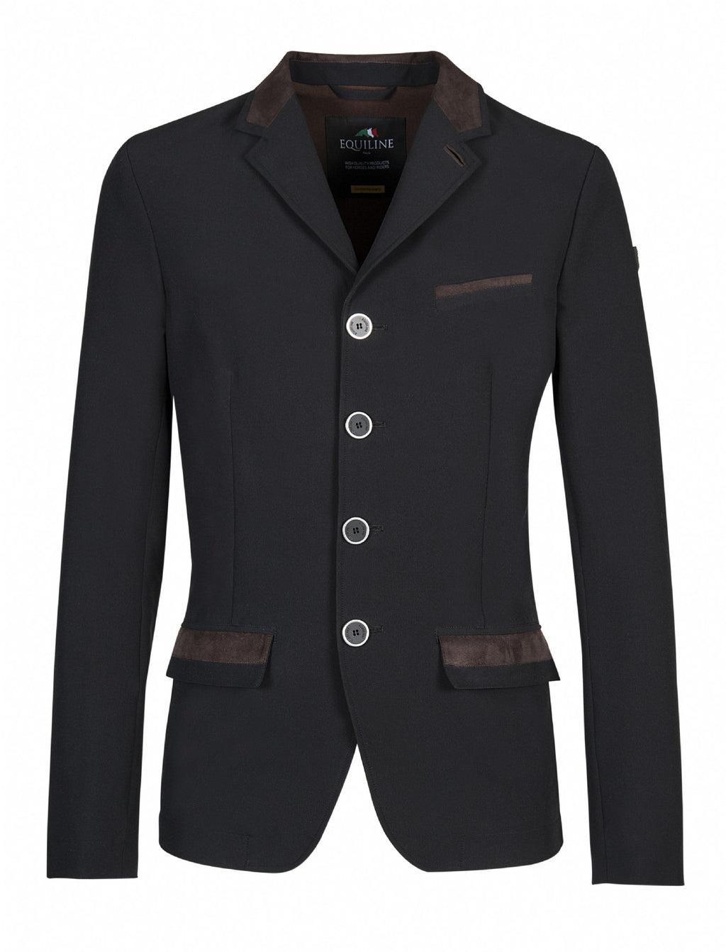 Albert Black men's show coat