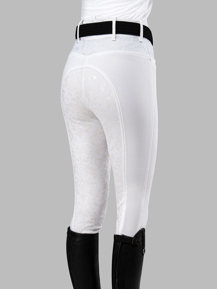 "HANNAH - WOMEN'S BREECHES WITH ""BAROQUE"" FULL GRIP"
