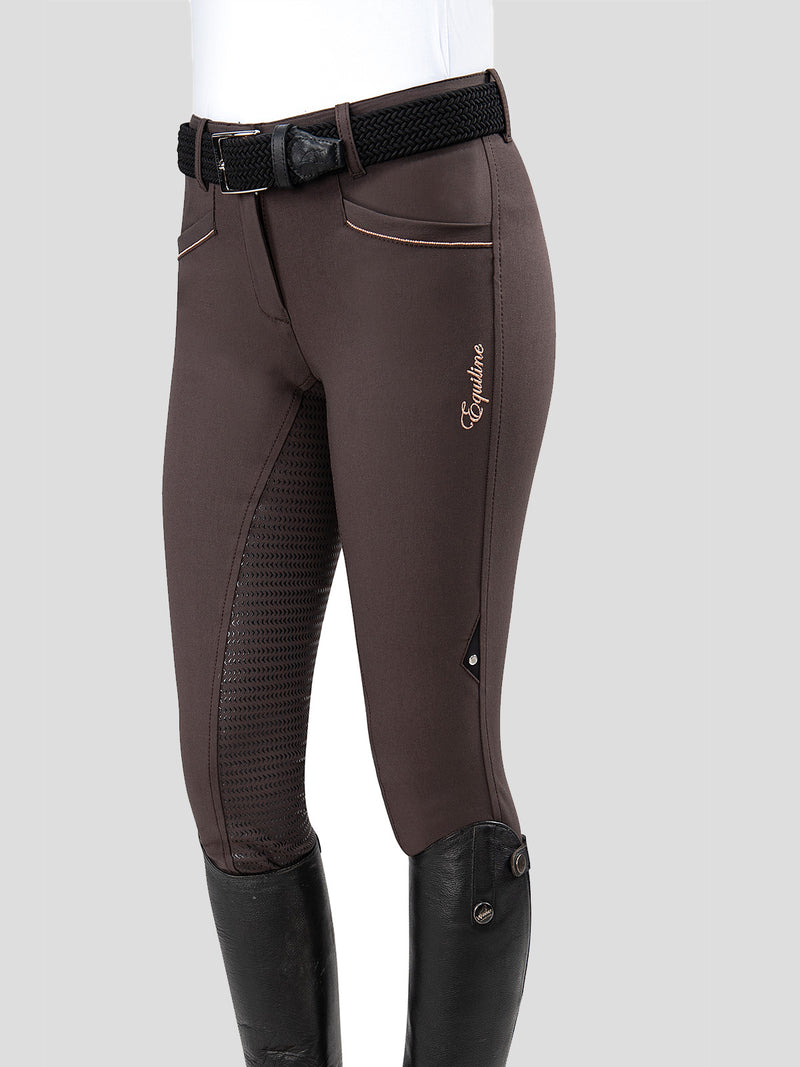 CELIA - WOMEN'S FULL GRIP BREECHES WITH ROSE GOLD