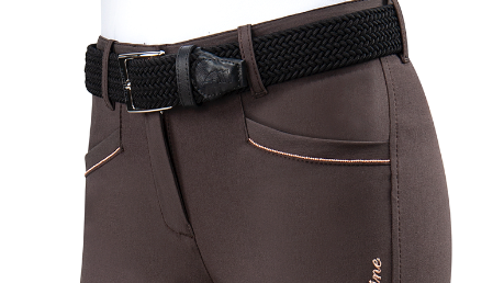 Ashlyn - Women's Knee Grip Breeches with Rose Gold Details