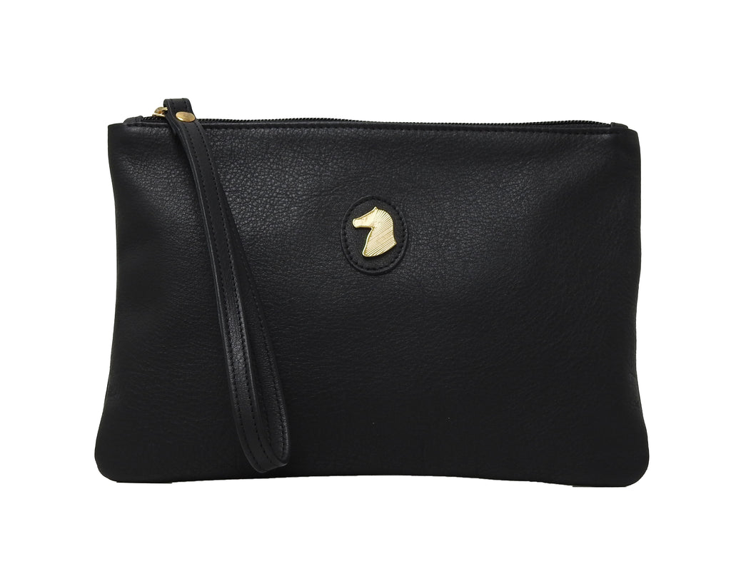DESORI WEIKA LEATHER CLUTCH