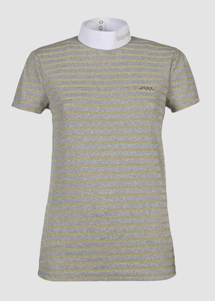 Alma Grey Gold stripe
