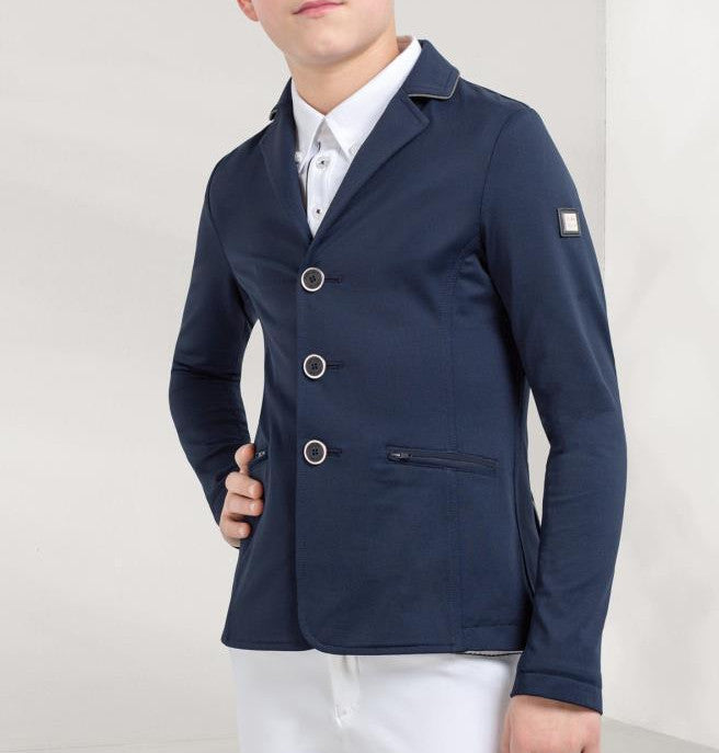 Steve junior show coat blue