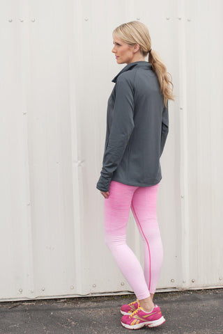 Ombre Athletic Leggings (Full length) - 4 Colors