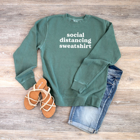 Social Distancing Sweatshirt | Colorful Sweatshirt