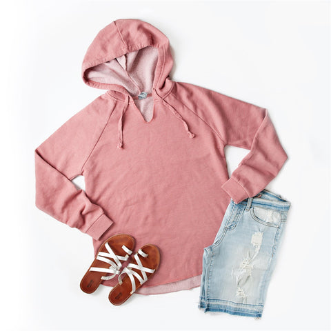 Summer Hooded Pullover