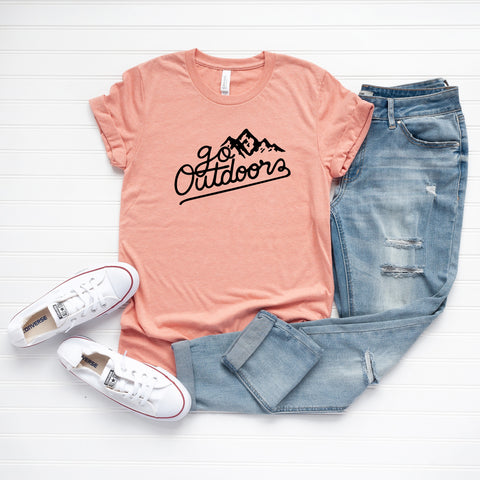 Go Outdoors | Short Sleeve Graphic Tee
