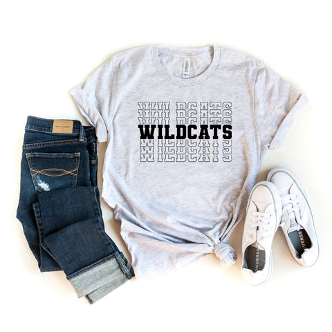 Wildcats | Short Sleeve Graphic Tee