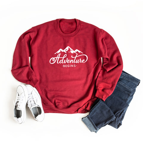 Adventure Begins | Sweatshirt