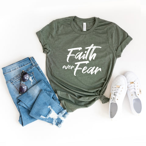 Faith Over Fear | Short Sleeve Graphic Tee