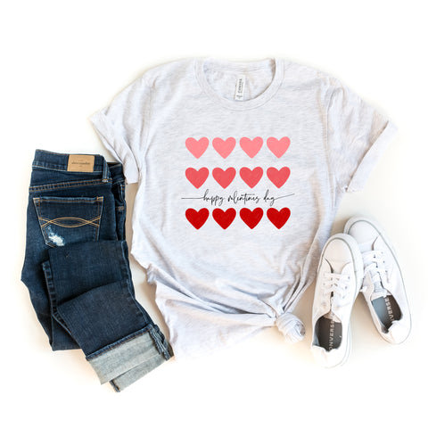Happy Valentine's Day | Short Sleeve Graphic Tee