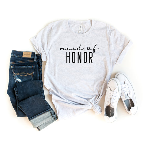 Maid of Honor | Short Sleeve Graphic Tee