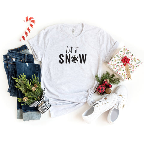 Let It Snow | Short Sleeve Graphic Tee