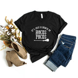 It's Just a Bunch of Hocus Pocus | V-Neck Graphic Tee