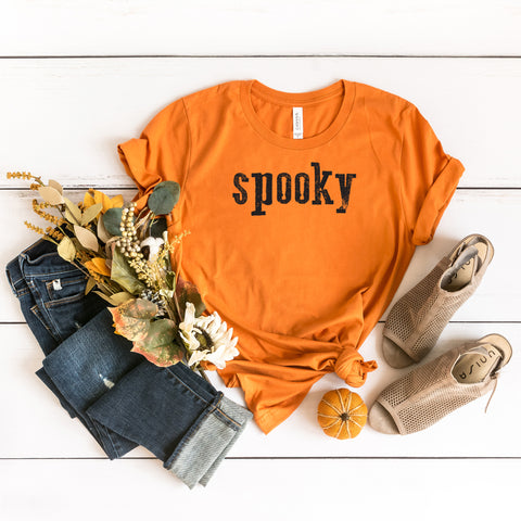 Spooky | Short Sleeve Graphic Tee