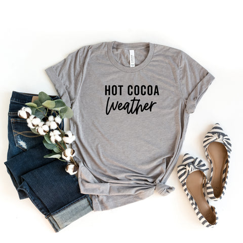 Hot Cocoa Weather | Short Sleeve Graphic Tee