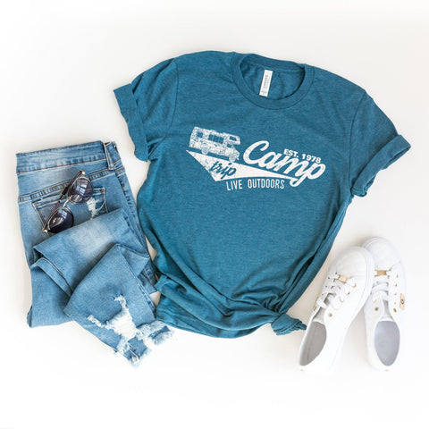 Camp Live Outdoors | Short Sleeve Graphic Tee