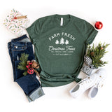 Farm Fresh Christmas Trees | Short Sleeve Graphic Tee