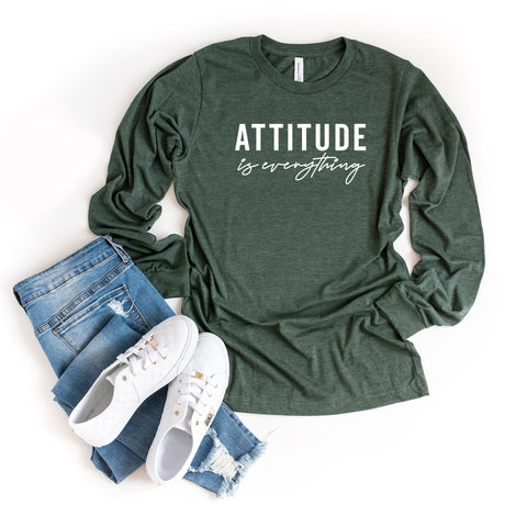 Attitude is Everything | Long Sleeve Graphic Tee