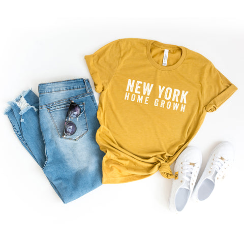 New York Home Grown | Short Sleeve Graphic Tee