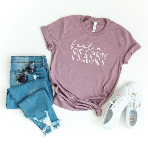 Feelin' Peachy | Short Sleeve Graphic Tee