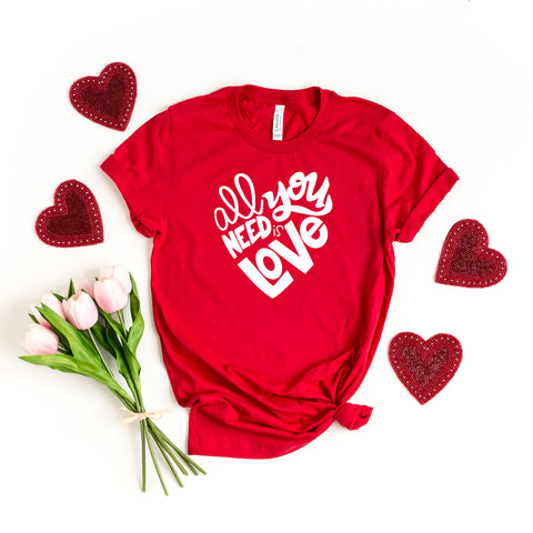 All You Need Is Love - Kids | Short Sleeve Graphic Tee