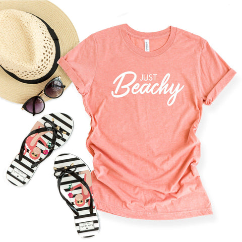Just Beachy| Short Sleeve Graphic Tee