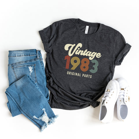 Vintage 1983 | Short Sleeve Graphic Tee
