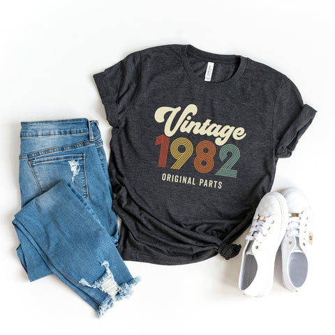 Vintage 1982 | Short Sleeve Graphic Tee