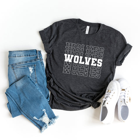 Wolves | Short Sleeve Graphic Tee