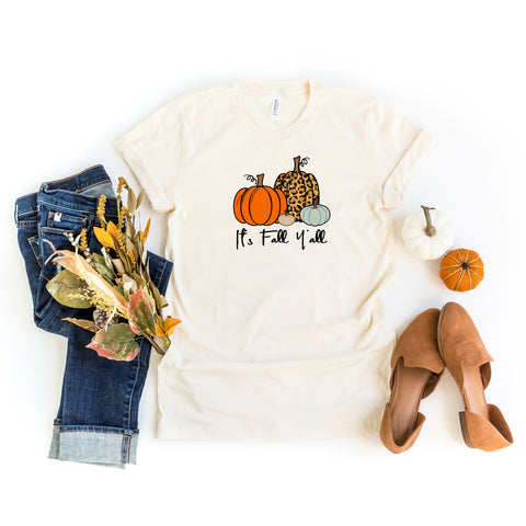 It's Fall Ya'll | Short Sleeve Graphic Tee