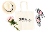 Chaos Coordinator | Teacher Appreciation Tote