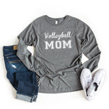 Volleyball Mom | Long Sleeve Graphic Tee