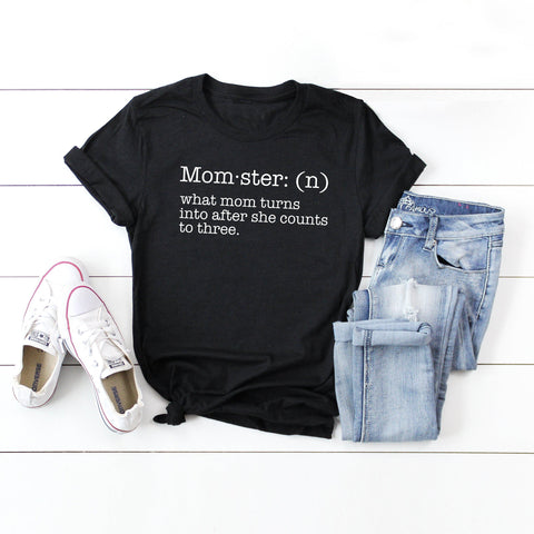 Momster | Short Sleeve Graphic Tee