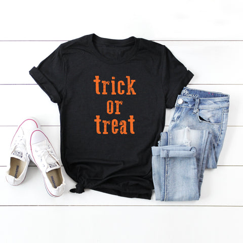 Trick or Treat | Short Sleeve Graphic Tee