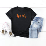 Spooky - Cursive | Short Sleeve Graphic Tee