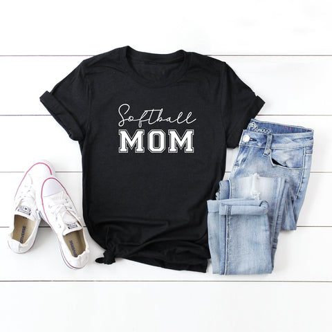 Softball Mom | Short Sleeve Graphic Tee