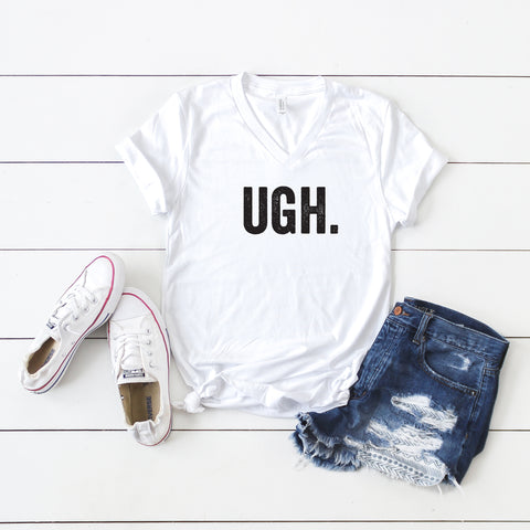UGH | V-Neck Graphic Tee