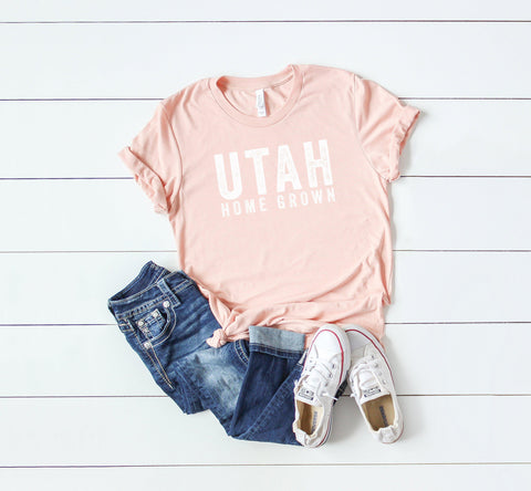 Utah Home Grown | Short Sleeve Graphic Tee
