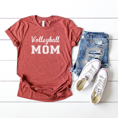 Volleyball Mom  Short | Sleeve Graphic Tee
