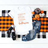 Halloween Words | Short Sleeve Graphic Tee