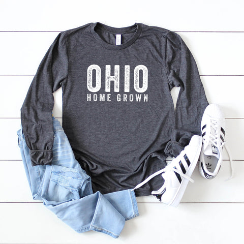 Ohio Home Grown | Long Sleeve Graphic Tee