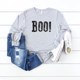 Boo! | Long Sleeve Graphic Tee
