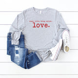 Crazy Little Thing Called Love Long Sleeve Graphic Tee
