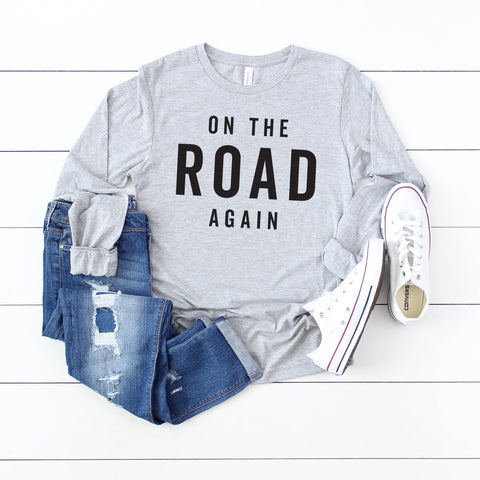 On the Road Again | Long Sleeve Graphic Tee